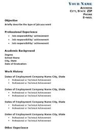 Academic Resume Stunning 60 Academic Resume Templates To Download Sample Templates Resume