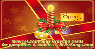 Free Christmas Greetings Merry Christmas Music Cards Christmas Greeting Wishes Riversongs