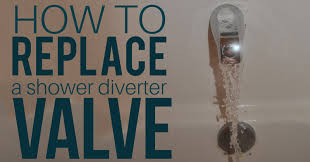 learn how to replace your shower diverter valve