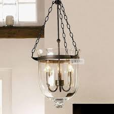chandeliers unique lamp american style of the nordic brief large glass candle pendant for pottery barn