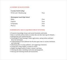 Resume Hair Stylist Sample Hair Stylist Resume 7 Free Documents In Pdf Word