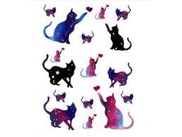 Tip Dočasné Tetování Kočka Ii Tlapka Kočičí Paní Nejlepší