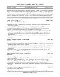 sample registered nurse resume objective alexa resume sample lewesmr com nutritionist resumes