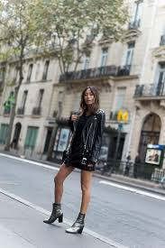 black leather moment in paris