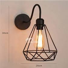 industrial metal small wall sconce ax