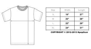 Jordan T Shirt Size Chart