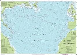 Imray Chart 100 Imray Nautical Chart Imray 100 North Atlantic Ocean Passage Chart