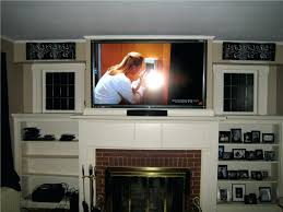 fireplace ators mounting flat screen tv over brick fireplace installing wall mount led on electric stand