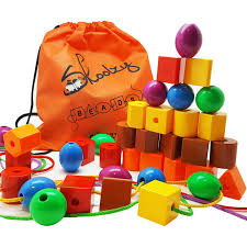 stringing beads for toddlers Best Baby Toys For 1 Year Old Boy, 2 - 3 4 5 7