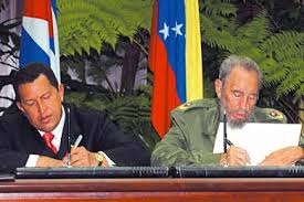 Cuba and Venezuela strengthen their relations with the signature of an  integral agreement , by Alia2