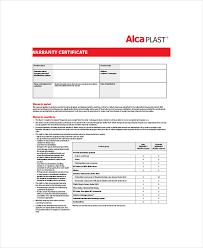 warranty template word warranty certificate template word free letter condo financials com