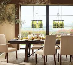 pottery barn parsons chair sger grayson dining interior design 1