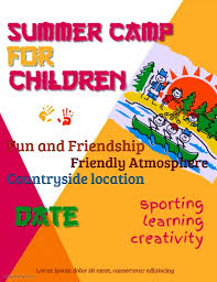 Summer Camp Flyer Template Interesting Summer Camp Poster Template PosterMyWall