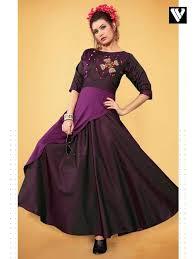 Cheap Designer Gowns Online Buy Designer Party Wear Wine Purple Satin Tapeta Gown Online