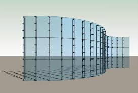 image of glass curtain wall