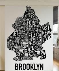 clever design ideas brooklyn wall art bridge canvas metal ny glass within cur brooklyn map wall