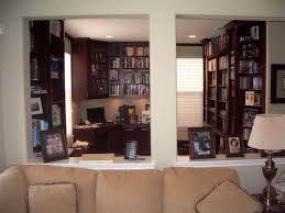 organized home office. After: An Organized Home Office With Built In Bookcases H