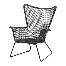 mid century modern chairs ikea. ikea rattan chaise lounge chair mid century modern woven black outdoor armchair lounger chairs