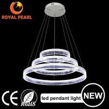 2016 new s acrylic round circle led pendant lights modern