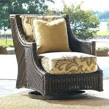 wicker swivel patio chair swivel wicker patio furniture island estate lanai swivel patio chair with cushions