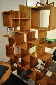Decorations:DIY Honeycomb Shelves Design Idea Amazing Easy Wood Bookshelf  Design Idea