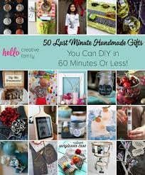 stuck for a last minute gift here are 50 last minute handmade gifts you can