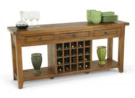 wine rack bar table. Sofa Table Wine Rack Fascinating Contemporary Design Pine Lacquered Finish Rectangle Solid Wood Generous Storage Drawers Shelves Feature Decoration Bar