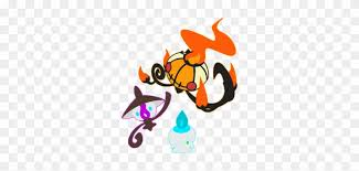 Litwick Evolution Chart Litwick Lampent Evolution Cartoon Orange Png Image