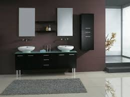vanity sink cabinets wood cabinet  marvellous black color of vanity in modern bathroom coupled by double