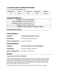 Awesome 1 Year Experience Resume Format For Java Developer 50 On Good  Objective For Resume with 1 Year Experience Resume Format For Java Developer