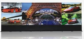 Small Picture 28X98m CCTV video wall 7680x21604x8 55 LG Panel transparent