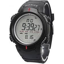 hala black rubber strap waterproof digital watch for boys men hala black rubber strap waterproof digital watch for boys men