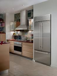 sub zero glass door refrigerator unusual sub zero bi36ufdo 36 inch built in french door refrigerator with 19