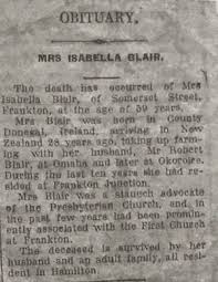 Isabella (Rodgers) Blair (abt.1873-1934) | WikiTree FREE Family Tree