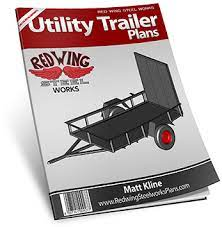 home free utility trailer plans
