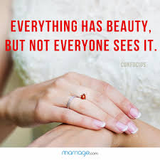 The Beauty Of Marriage Quotes Best of Everything Has Beauty But Not Marriage Quotes