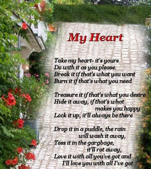 sad love poems for him from the heart