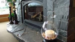 Natural Stone Fireplace Fireplace Hearth Designs Using K2s Natural Stone Youtube