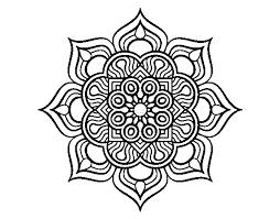 Disegno Di Mandala Fiore Di Fuoco Da Colorare Acolorecom