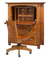 office desk armoire. Modesto Secretary Desk [Opened] Office Armoire O