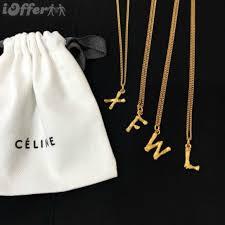 alphabet pendant necklace design ideas