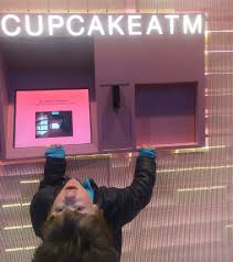 Cupcake Vending Machine Franchise Gorgeous Cupcake ATM Sprinkles