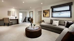 furniture agreeable modern open plan living room design plus round black coffee table for