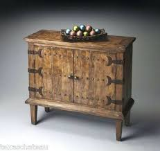 rustic spanish furniture. Rustic Spanish Furniture Iron Studs Cabinet Hacienda Colonial Revival On Chairs T
