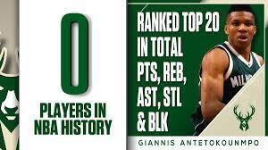 "ESPN Stats & Info on Twitter: ""Giannis ..."