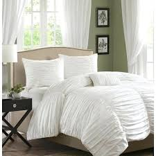 grey ruched bedding ruched comforter gray sets