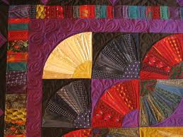 17 best Tie quilts images on Pinterest | Necktie quilt, Quilting ... & Detail of silk tie quilt Adamdwight.com