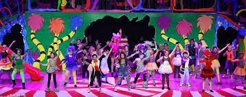 Horton the elephant, the cat in the hat and all of your favorite dr. Seussical Jr Junior School Musical At Dcb Beijing