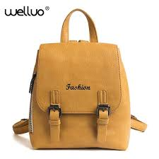 2018 leather backpack women vintage small shoulder bag for teenage girls female mini backpacks black rucksack xa462wb australia 2019 from meledy