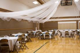 if it has to be in a cultural hall it can at least look kinda like Wedding Decoration Ideas Using Tulle if it has to be in a cultural hall it can at least look kinda like this and they lived happily ever after pinterest hall, weddings and wedding wedding decoration ideas with tulle